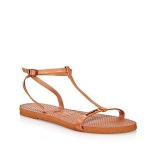 Havaianas You Belize T-strap Sandals In Rust
